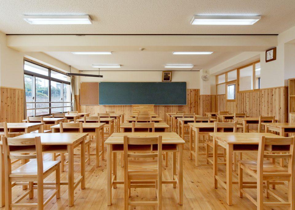 愛農学園農業高等学校(教室)