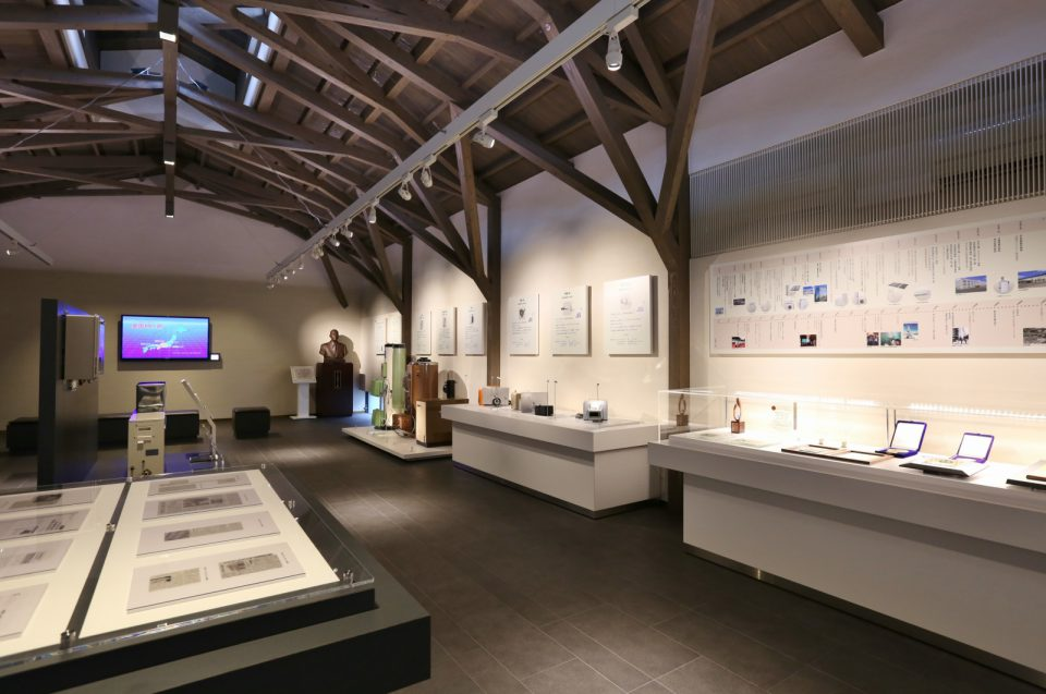 展示室では城下町長府のジオラマ展示や、長府製作所の誕生から現在にいたるまでの歴史などを紹介しています。