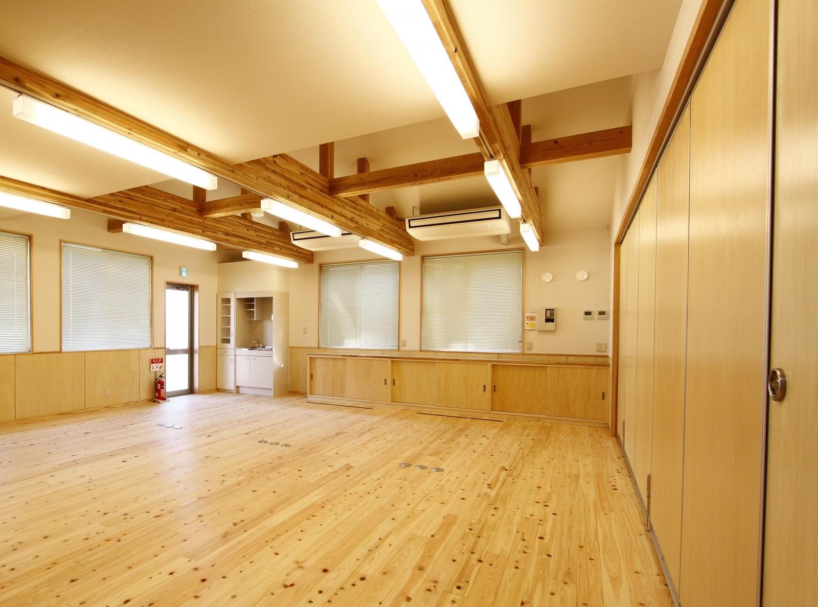 2階事務室。