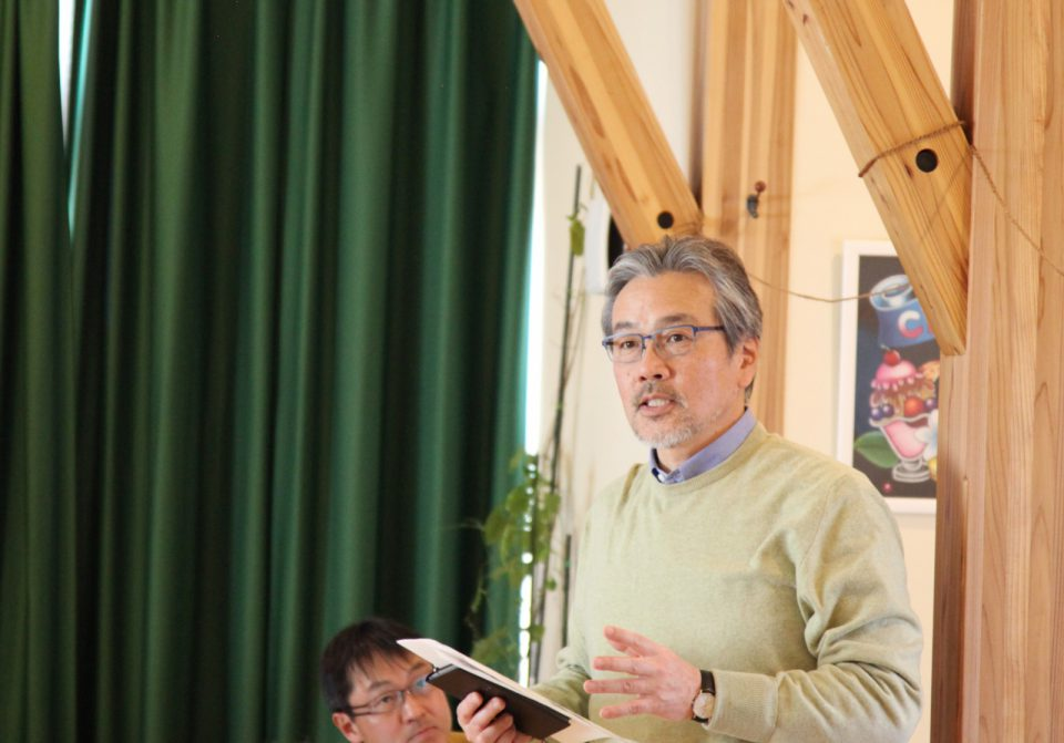 地域の保育園の事業者さんとの信頼関係を持って木造施設の設計をされている袴田氏