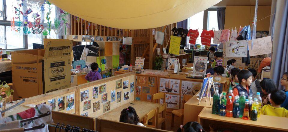 鳥取仁慈保幼園保育室