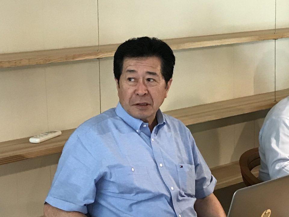 株式会社創建・有村社長